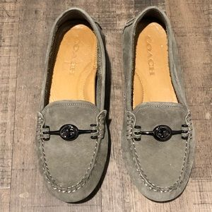 Coach moccasins/loafer